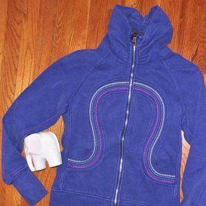 Lululemon  cuddle up sweatshirt jacket 6 small